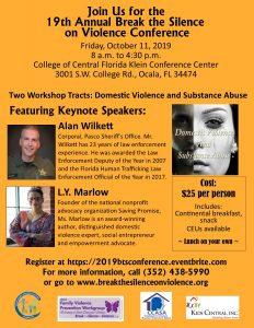 19th Annual Break the Silence on Violence Conference